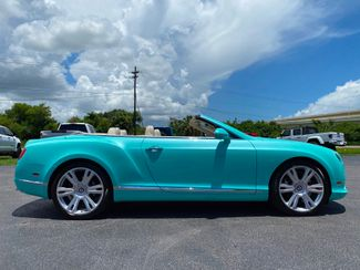 2014 Bentley Continental GT V8 GTC AQUAMARINE CARFAX CERT JUST SERVICED   Plant City Florida  Bayshore Automotive   in Plant City, Florida