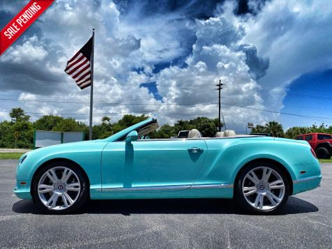 2014 Bentley Continental GT V8 GTC AQUAMARINE CARFAX CERT JUST SERVICED  in Plant City, Florida
