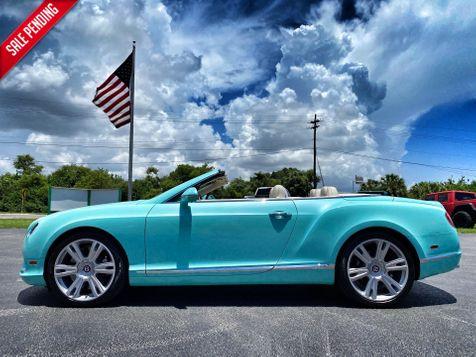 2014 Bentley Continental GT V8 GTC AQUAMARINE CARFAX CERT JUST SERVICED  in Plant City, Florida