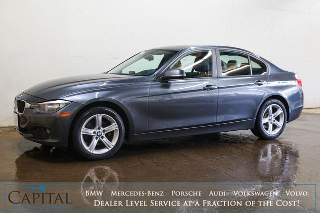 2014 BMW 328d xDrive AWD Clean Diesel Luxury Car w/Nav, Backup Cam, Moonroof, Comfort Access & B.T. Audio in Eau Claire, Wisconsin 54703