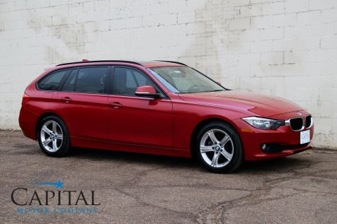 2014 BMW 328d xDrive AWD Clean Diesel w/Heated Seats, Panoramic Roof, HiFi Audio and It Gets 43MPG in Eau Claire