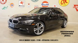 2014 BMW 328i Sedan ROOF,NAV,BACK-UP CAM,HTD LTH,77K,WE FINANCE in Carrollton, TX 75006