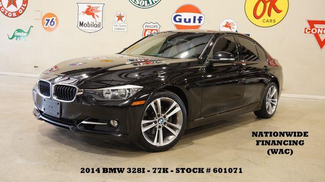 2014 BMW 328i Sedan ROOF,NAV,BACK-UP CAM,HTD LTH,77K,WE FINANCE