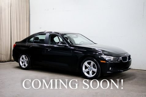 2014 BMW 328xi xDrive AWD w/Navigation, Heated Steering Wheel and Seats, Keyless Start & Bluetooth Audio in Eau Claire