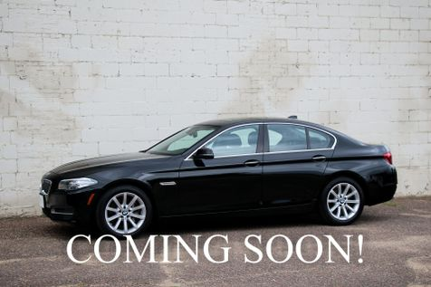 2014 BMW 535d xDrive AWD Clean Diesel Executive Car with Navigation, Backup Cam, Heated Seats & Gets 37MPG in Eau Claire