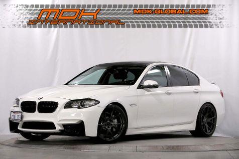 2014 BMW 535i - M Sport - Vorsteiner Wheels - Coilovers in Los Angeles