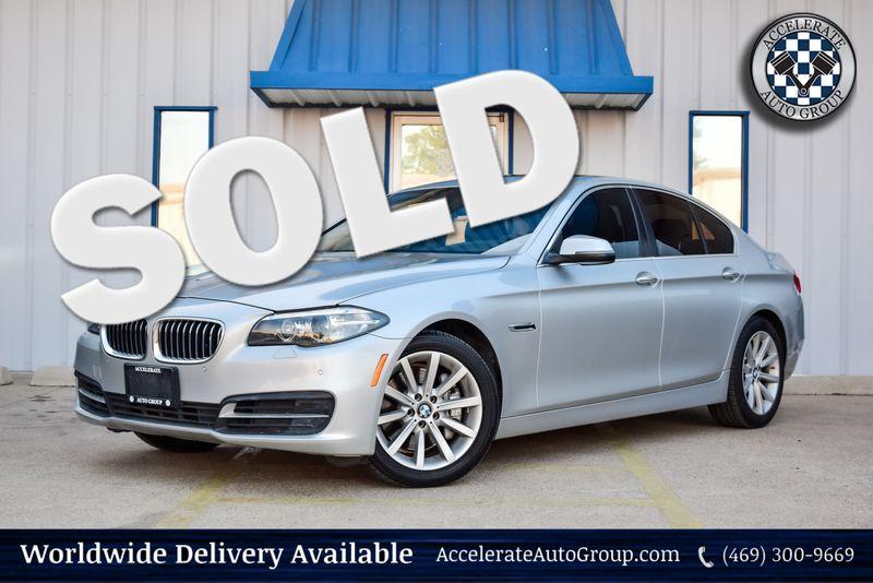 2014 BMW 535i NAV CLEAN CARFAX AUTO TRANS SUNROOF LOADED NICE! in Rowlett Texas