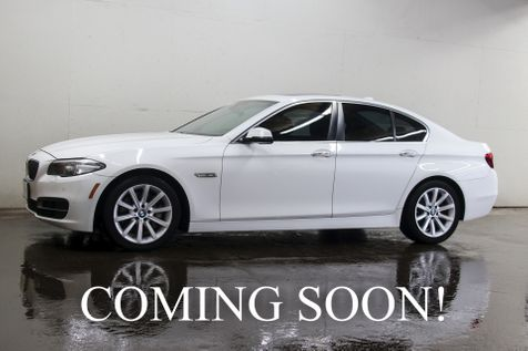 2014 BMW 535xi xDrive AWD w/Navigation, Backup Cam, Heated Seats, Keyless Start & Harman/Kardon Audio in Eau Claire