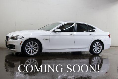 2014 BMW 535xi xDrive AWD w/Navigation, Backup Cam, Heated Seats, Keyless Start & Harman/Kardon Audio in Eau Claire