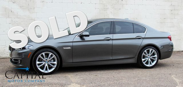 2014 BMW 535xi xDrive AWD w/Navigation, Cold Weather Pkg, LED Headlights, Bluetooth Streaming Audio