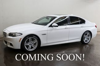 2014 BMW 550xi xDrive AWD w/ M-Sport Pkg, NAV, Head-Up in Eau Claire, Wisconsin