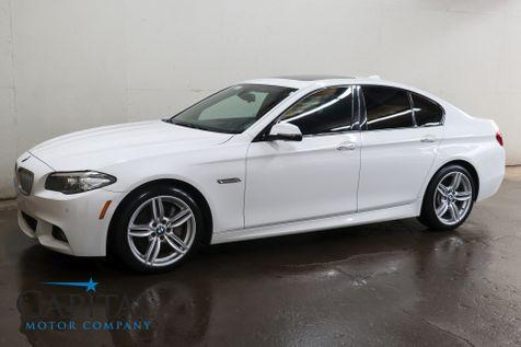 2014 BMW 550xi xDrive AWD w/ M-Sport Pkg, NAV, Head-Up Display, 20-Way Pwr/Heated Seats & H/K Audio Pkg in Eau Claire