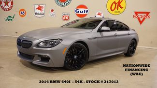 2014 BMW 640i Gran Coupe HUD,ROOF,NAV,F&SIDE CAM,HTD/COOL LTH,54K in Carrollton, TX 75006