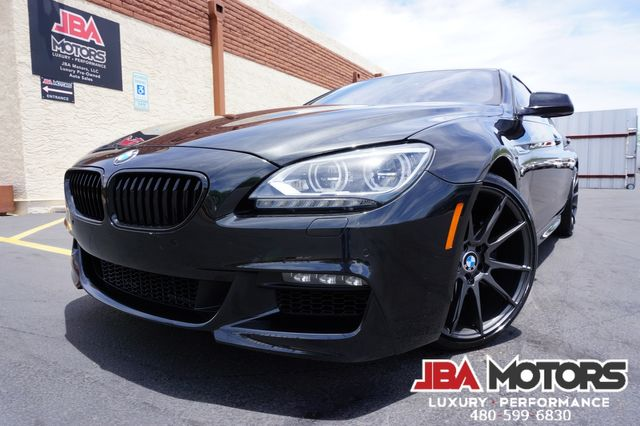 2014 BMW 640i Gran Coupe 6 Series 640 M Sport Package GranCoupe Sedan