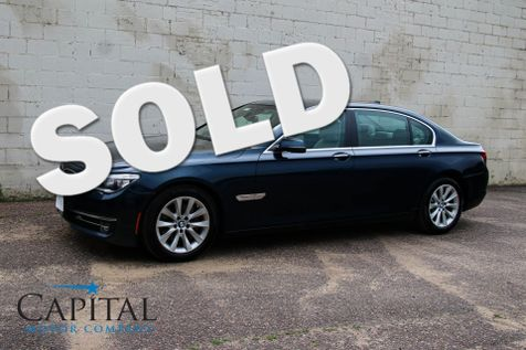 2014 BMW 740Li xDrive AWD w/Executive Package, Heated/Cooled Seats, Navigation & Head-Up Display in Eau Claire