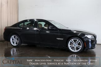 "2014 BMW 750xi xDrive AWD M-Sport Executive Sedan w/Nav, 360º Cam, Climate Seats & 20"" Wheel Pkg in Eau Claire, Wisconsin 54703"