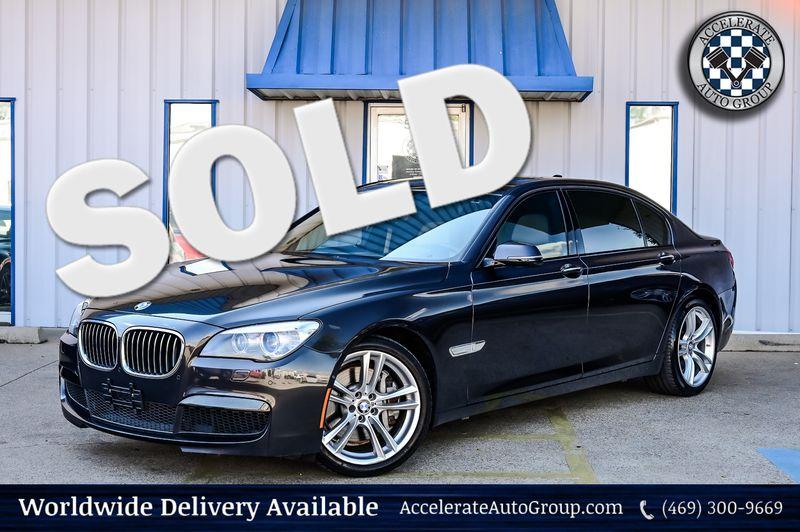 2014 BMW 750Li 4.4L Twin Turbo V8 M-Sport & Exec Pkg 20'' Wheels in Rowlett Texas