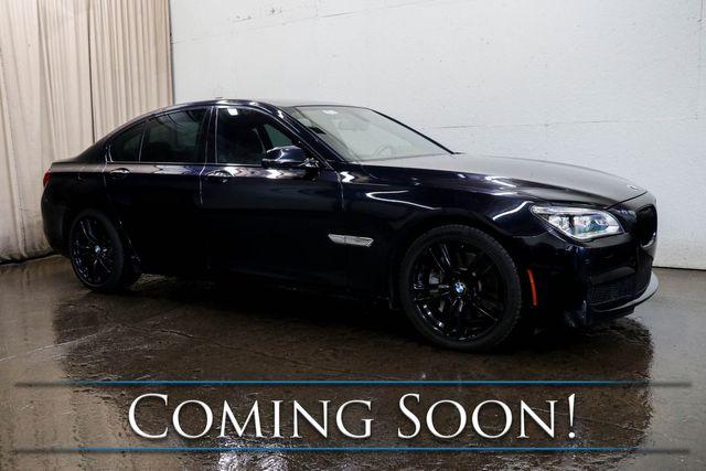 2014 BMW 750xi xDrive M-Sport w/Executive Pkg, Heated/Cooled/Massage Seats, Nav & Premium Audio