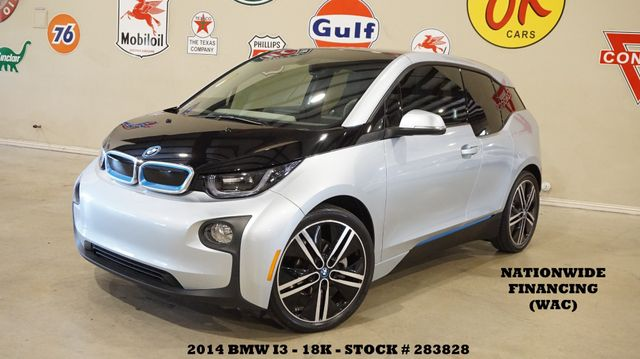 2014 BMW i3 NAVIGATION,HTD CLOTH,B/T,20IN WHLS,18K,WE FINANCE