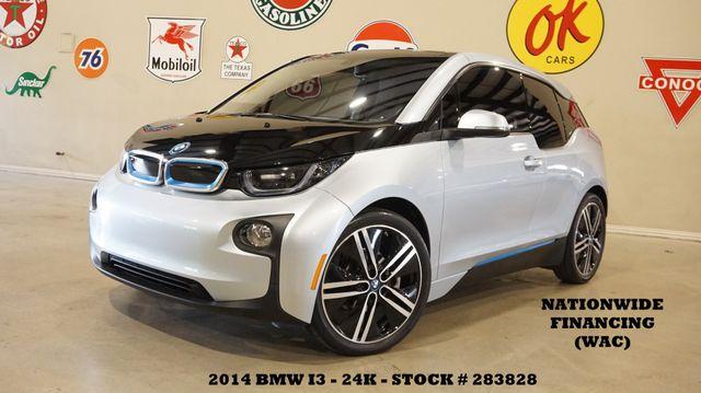 2014 BMW i3 NAVIGATION,HTD CLOTH,B/T,20IN WHLS,24K,WE FINANCE