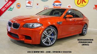 2014 BMW M5 Sedan SUNROOF,NAV,BACK-UP CAM,HTD LTH,H/K SYS,21K! in Carrollton TX, 75006
