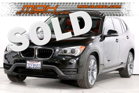 2014 BMW X1 xDrive35i - Back up cam - Coral Red Leather interior - Navi in Los Angeles