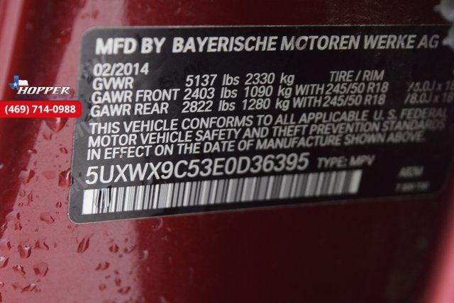 2014 BMW X3 xDrive28i in McKinney Texas, 75070