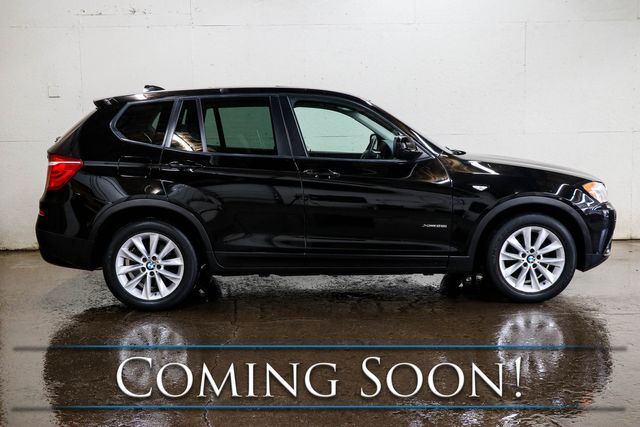 2014 BMW X3 xDrive28i AWD Crossover w/Navigation, Heated Seats, Panoramic Roof & 12-Speaker Audio in Eau Claire, Wisconsin 54703