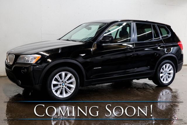 2014 BMW X3 xDrive28i AWD Crossover w/Navigation, Heated Seats, Panoramic Roof & 12-Speaker Audio