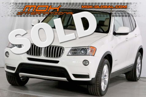 2014 BMW X3 xDrive35i - 50K miles - Nav - HUD - Comfort access in Los Angeles