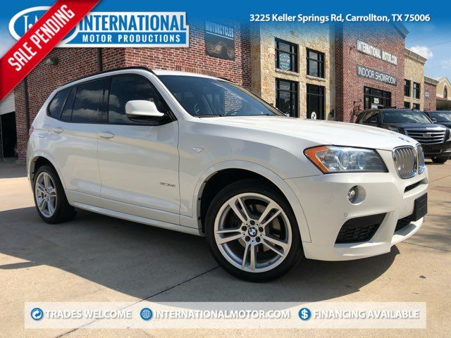 2014 BMW X3 xDrive35i M Sport Package Tech Pkg and Heads-Up Display