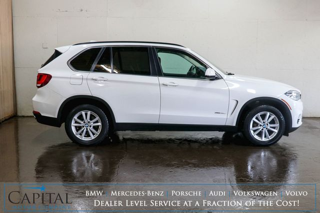 2014 BMW X5 xDrive35d AWD Clean Diesel with 3rd Row Seats Heated Seats, Bluetooth Phone & Audio in Eau Claire, Wisconsin 54703