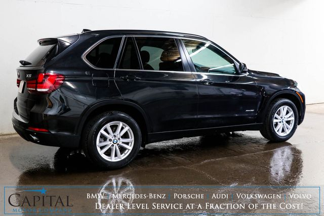 2014 BMW X5 xDrive35i AWD Luxury SUV w/Nav, Panoramic Roof, Heated Seats and Gorgeous 2-Tone Interior in Eau Claire, Wisconsin 54703