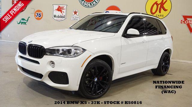 2014 BMW X5 xDrive35i HUD,PANO ROOF,NAV,BACK-UP,HTD LTH,3RD ROW,37K