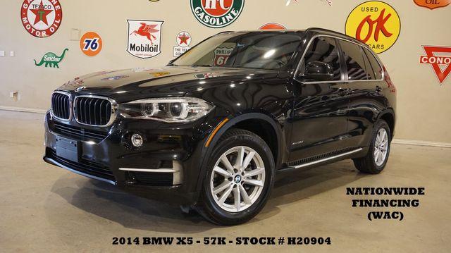 2014 BMW X5 xDrive35i HUD,PANO ROOF,NAV,360 CAM,HTD LTH,3RD ROW,57K