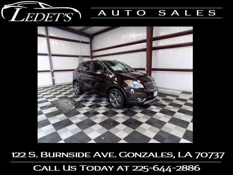 2014 Buick Encore Convenience - Ledet's Auto Sales Gonzales_state_zip in Gonzales Louisiana