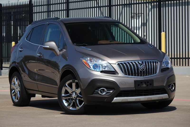 2014 Buick Encore Leather* Leather* BU Cam* EZ Finance** | Plano, TX | Carrick's Autos in Plano TX