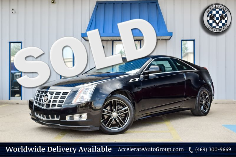 2014 Cadillac CTS Coupe Premium in Rowlett Texas