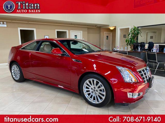 2014 Cadillac CTS Coupe Premium