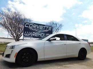 2014 Cadillac CTS Sedan Luxury RWD Auto, NAV, Sunroof, Black Alloys 51k in Dallas, Texas 75220