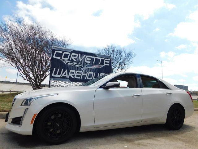 2014 Cadillac CTS Sedan Luxury RWD Auto, NAV, Sunroof, Black Alloys 51k