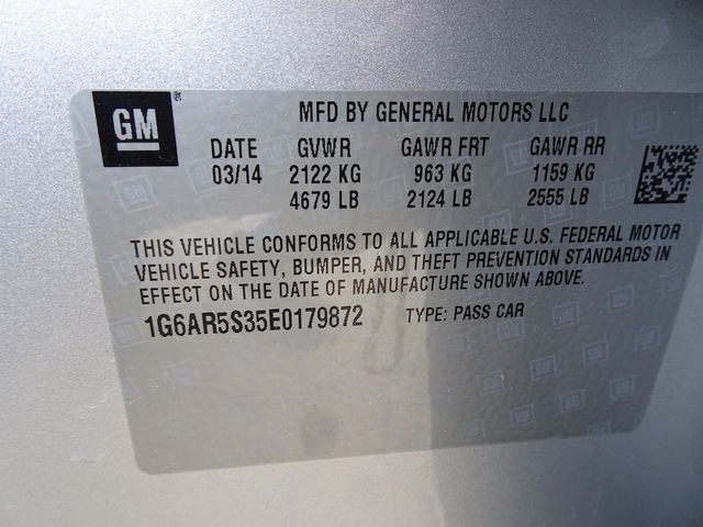 2014 Cadillac CTS Sedan Luxury RWD Madison, NC 53