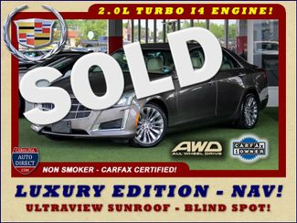 2014 Cadillac CTS Sedan Luxury AWD - NAV - ULTRAVIEW SUNROOF - BLIND SPOT! Mooresville , NC