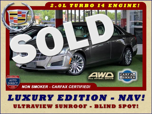2014 Cadillac CTS Sedan Luxury AWD - NAV - ULTRAVIEW SUNROOF - BLIND SPOT! Mooresville , NC 0
