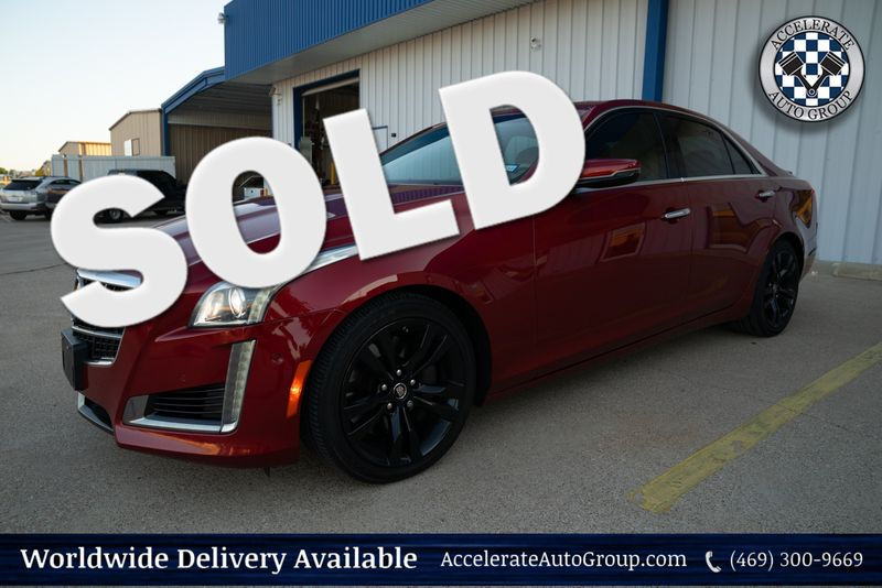 2014 Cadillac CTS Sedan Vsport Premium RWD in Rowlett Texas