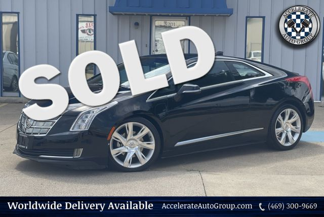 2014 Cadillac ELR BASE/LEATHER/NAV/CLEAN/ELECTRIC/LOW MILES in Rowlett