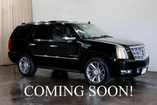 2014 Cadillac Escalade Platinum AWD w/Dual DVD, Navigation, in Eau Claire, Wisconsin