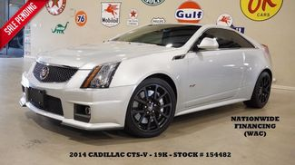2014 Cadillac V-Series SUNROOF,NAV,BACK-UP,RECARO,BLACK WHLS,19K! in Carrollton TX, 75006