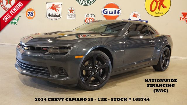 2014 Chevrolet Camaro SS Coupe AUTO,HUD,ROOF,BACK-UP CAM,HTD LTH,13K in Carrollton, TX 75006