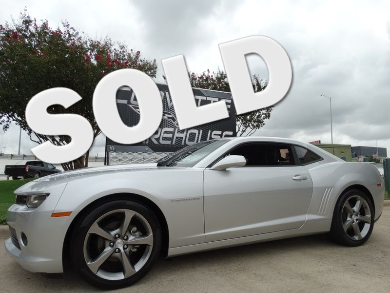 2014 Chevrolet Camaro Coupe RS LT Auto, CD, Alloy Wheels Only 31k Miles! | Dallas, Texas | Corvette Warehouse